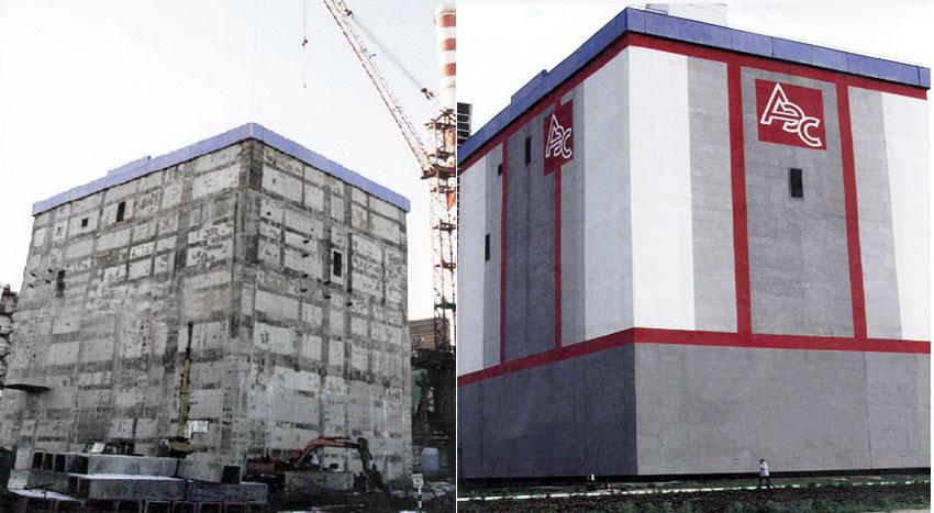 АЭС. До и после. Палитра Руси